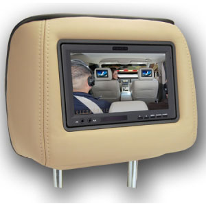 Dual 7″ Headrest Monitor | $1,299.99